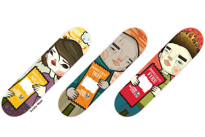 Taco Bell / Xgames Skatedecks